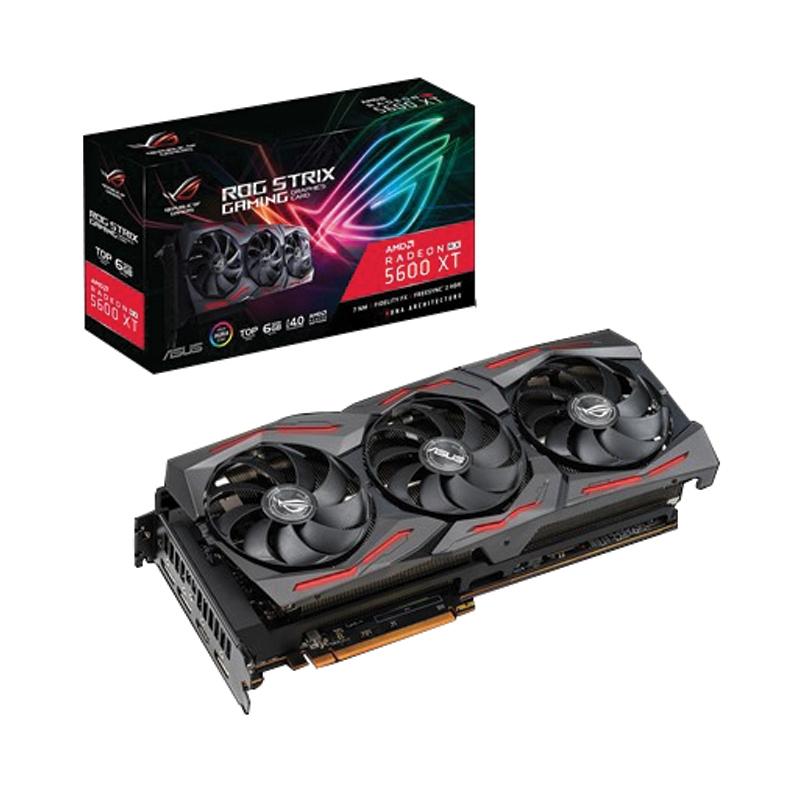 6GB GDDR6 AMD RX5600XT ASUS ROG STRIX T6G GAMING