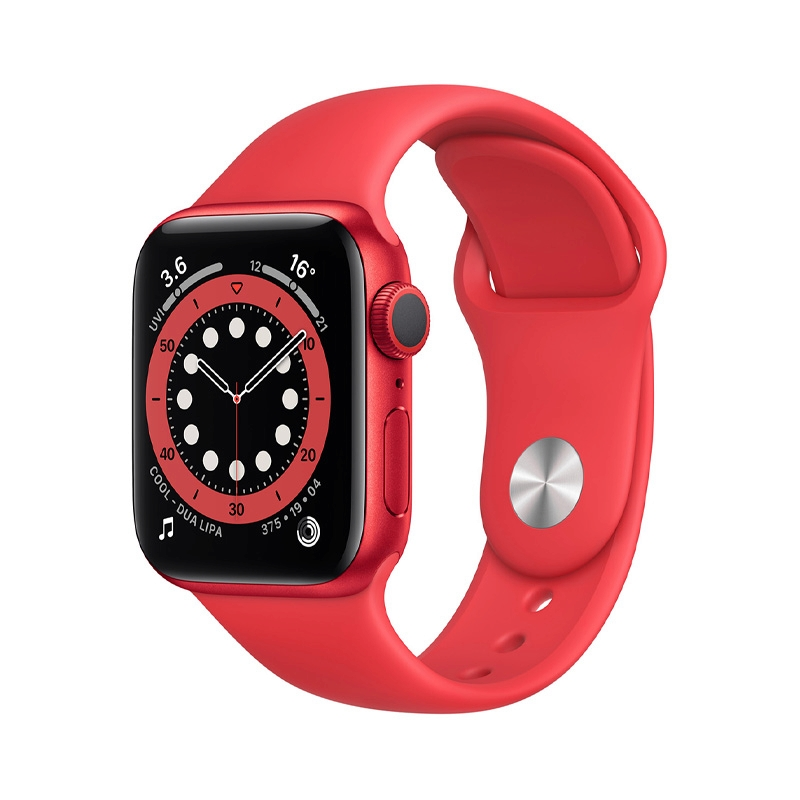 Apple Watch Series 6 (40mm/ RED Aluminium Case/ RED Sport Band)