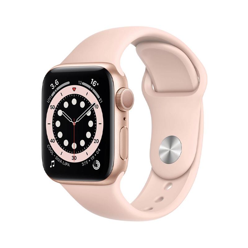 Apple Watch Series 6 (40mm/ Gold Aluminium Case/ Pink Sand Sport Band)