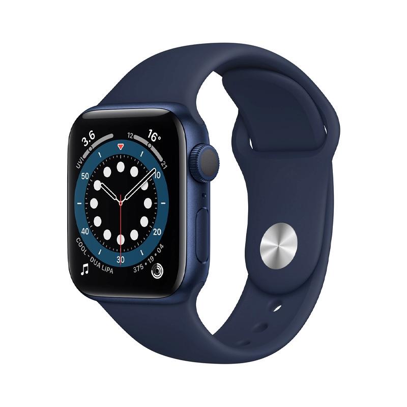 Apple Watch Series 6 (40mm/ Blue Aluminium Case/ Deep Navy Sport Band)